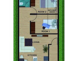 #15 for Interior design using floorplan by SpaceLifeAD