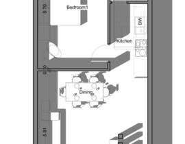 #21 for Interior design using floorplan by GhadaJuly