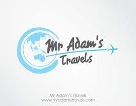 nº 41 pour Design a logo for a personal travel blog - Mr Adam's Travels par reyryu19