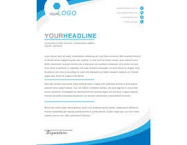 nº 15 pour Create letterhead  in Word or Google Docs par Sarim456