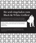 Graphic Design Kilpailutyö #14 kilpailuun Design an Invitation for a cool Black and White Party, printable