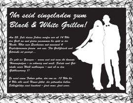 #15 for Design an Invitation for a cool Black and White Party, printable by remisv