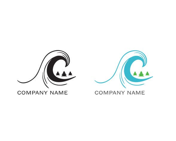 entry 35 by yuliaabzhalimova for design a simple surfing logo
