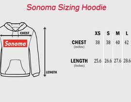 nº 11 pour Design Clothing Size Chart par hirafirdous