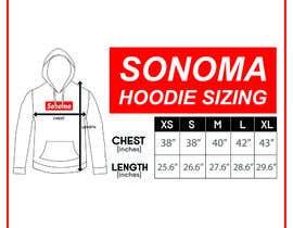 nº 8 pour Design Clothing Size Chart par fadhilsalimi