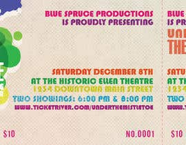 #4 for Graphic Design for TicketPrinting.com HOLIDAY ALL PURPOSE POSTER & EVENT TICKET af thuanbui
