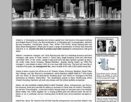 Nro 30 kilpailuun Design a flyer, only one page käyttäjältä papri802030
