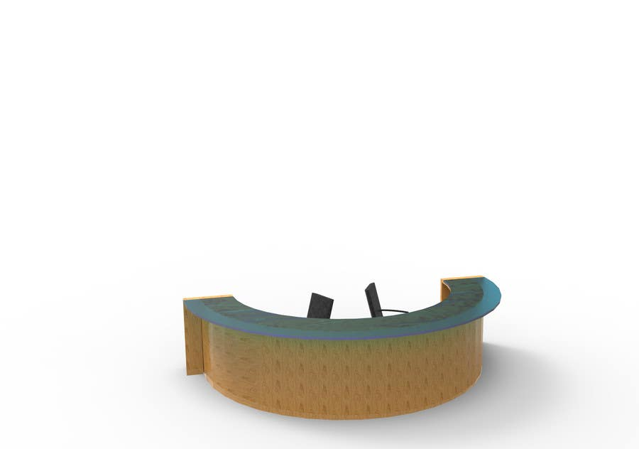 Entry 5 By Milivoja For Design A New Retail Desk Freelancer