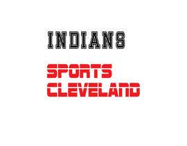 nº 13 pour Cleveland Sports T-Shirt Illustration par mahmudulhaque35