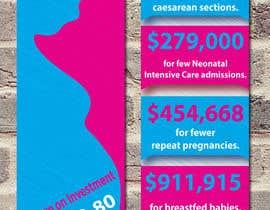 #34 for Design a Brochure - BirthMatters ROI Bookmark by hnishat25