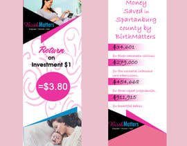 #24 for Design a Brochure - BirthMatters ROI Bookmark by MadniInfoway01