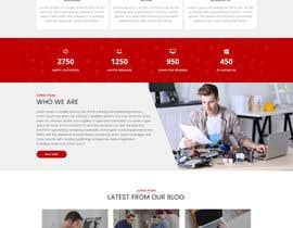 nº 2 pour Design a Website Mockup par sudpixel