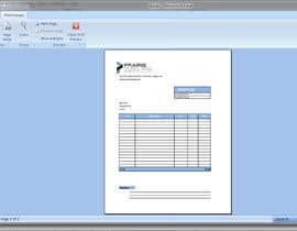 nº 3 pour Graphic Design for Invoice Template in Excel par pinglive2014
