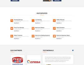 #25 for Design a Website Mockup for Mechanical Service and Repair Contractor by adeeldesigner