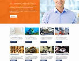 #16 for Design a Website Mockup for Mechanical Service and Repair Contractor by saidesigner87