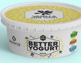 #76 for Packaging design for innovative yogurt by karenli9
