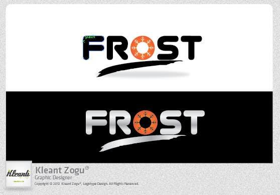 Inscrição nº 241 do Concurso para Logo Design for Frost