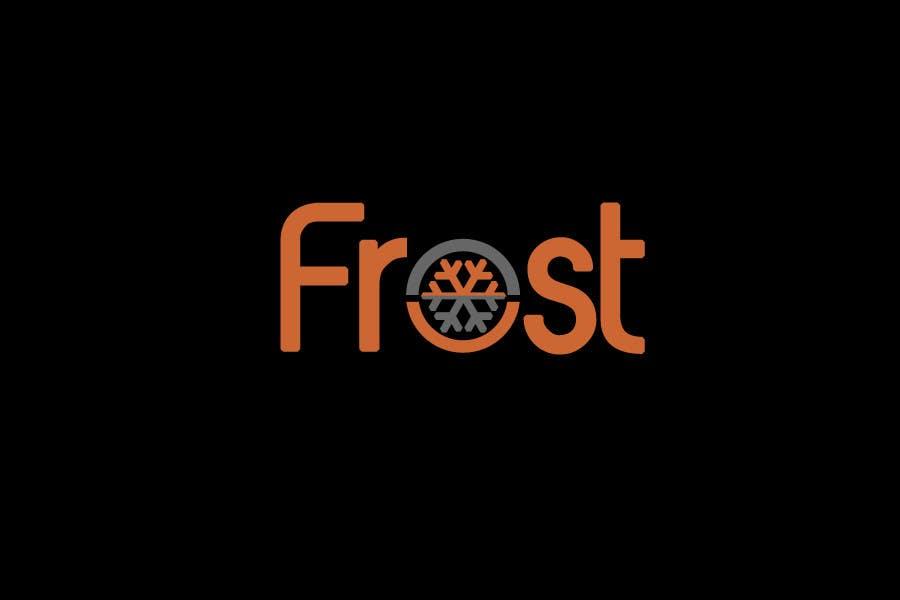 Inscrição nº 75 do Concurso para Logo Design for Frost