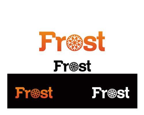 Inscrição nº 31 do Concurso para Logo Design for Frost