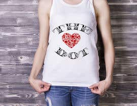 nº 70 pour Design a T-Shirt, the love dot v1 par MDARIFEN