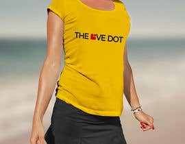 nº 115 pour Design a T-Shirt, the love dot v1 par FaridGraphics