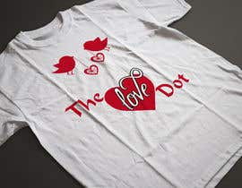 nº 101 pour Design a T-Shirt, the love dot v1 par JubaerShaon