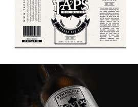 #53 for Beer Label - Front and Back by ratstudio