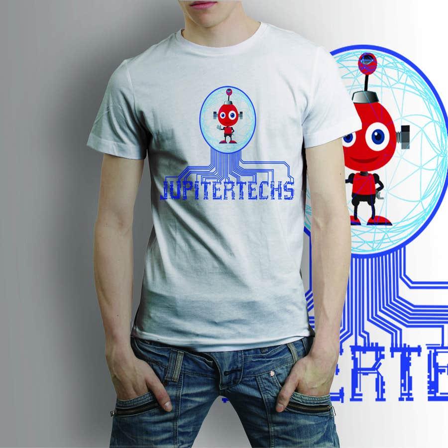 Proposition n°18 du concours Design a FUNNY TECH T-Shirt