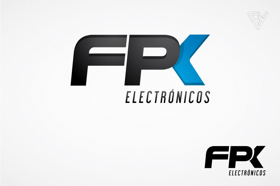 #129 for Logo Design for FPK Electrónicos by Ferrignoadv