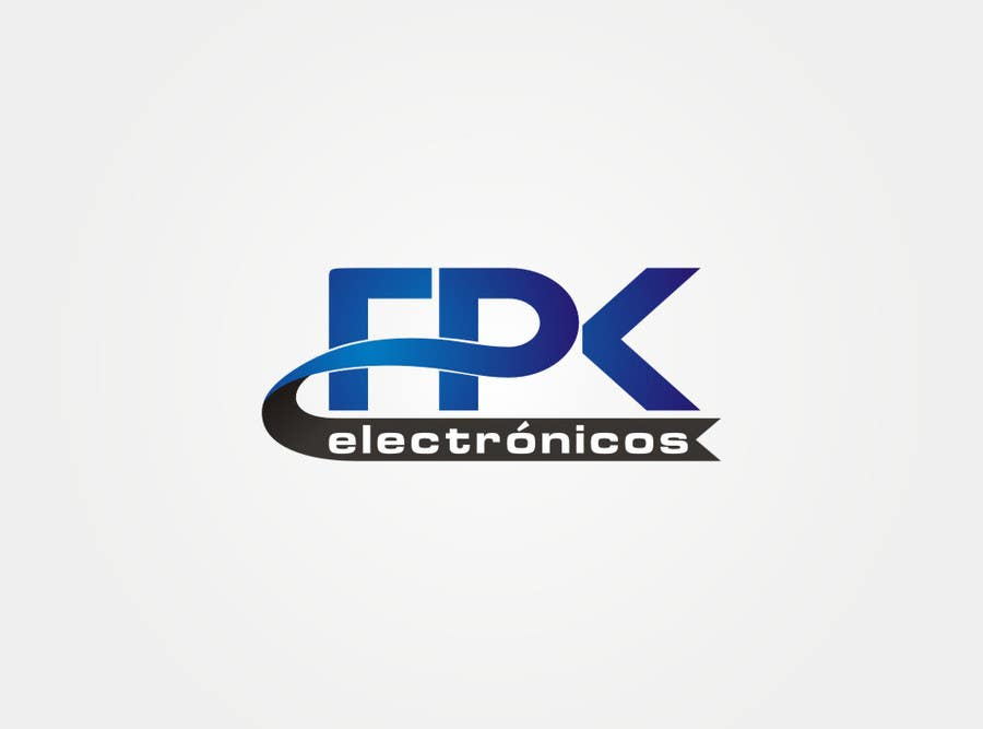#168 for Logo Design for FPK Electrónicos by flov