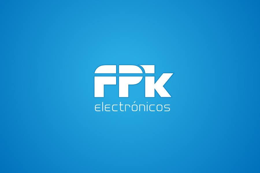 Inscrição nº 289 do Concurso para Logo Design for FPK Electrónicos