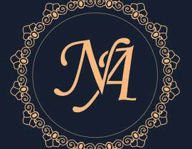 nº 32 pour Monogram required for a couple who is getting married. (N & A) par Haidderr