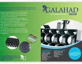 #15 for Brochure Design for Galahad Group Pty Ltd by tarakbr