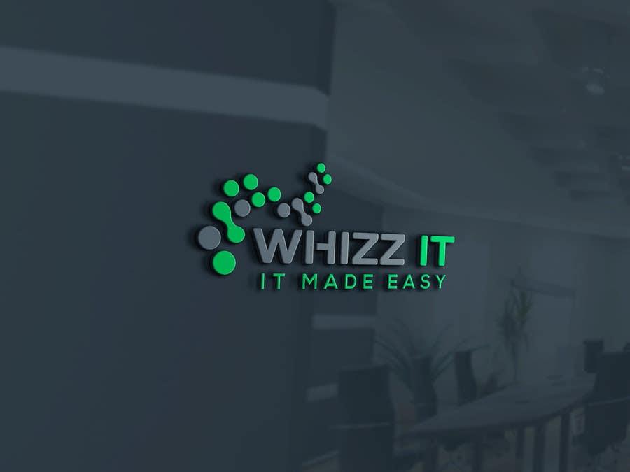 Proposition n°238 du concours Design a Logo for Whizz IT