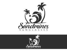 nº 110 pour Design a Logo - Sandmines Sunglasses par boaleksic