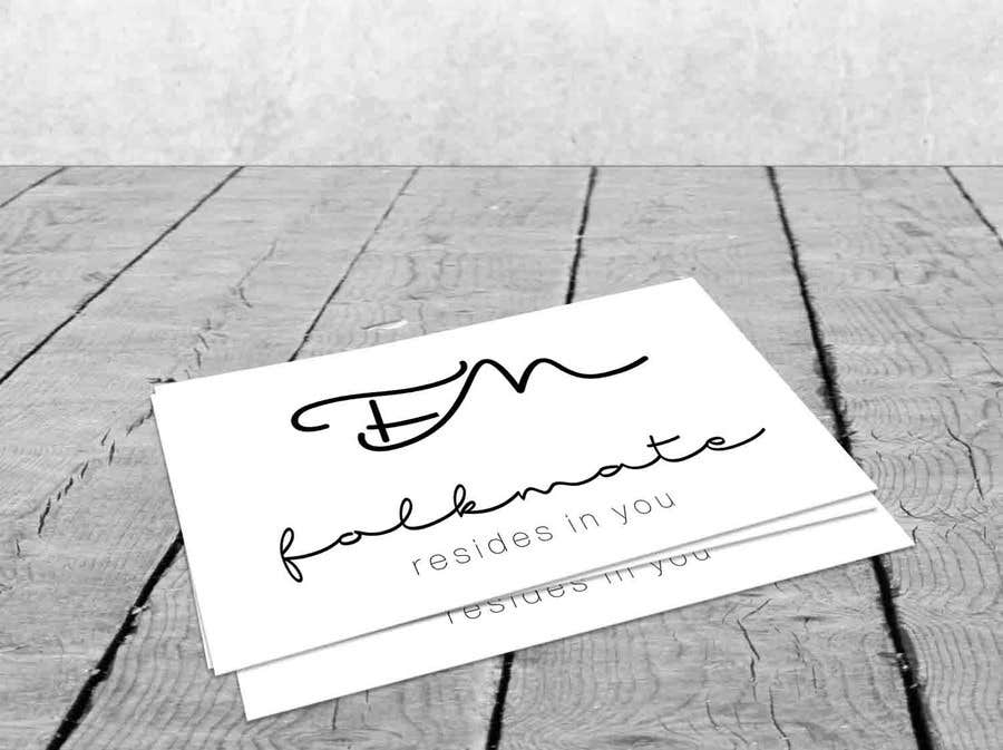 Proposition n°19 du concours make mine brand logo for fashion brand