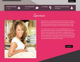 nº 17 pour Parallax web design for women brunch & pampering experience. par kumardilip81