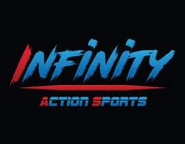 Nro 21 kilpailuun Infinity Action Sports Logo käyttäjältä ranjanarahman