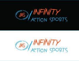 Nro 23 kilpailuun Infinity Action Sports Logo käyttäjältä MDwahed25
