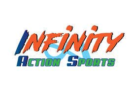 nº 30 pour Infinity Action Sports Logo par littlenaka