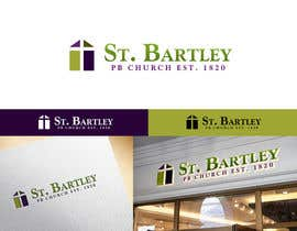 nº 187 pour Logo Design for St Bartley Church par arjeyjimenez