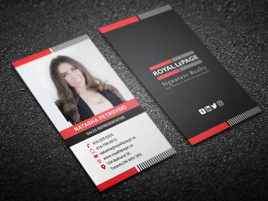 Proposition n°172 du concours Design some Business Cards