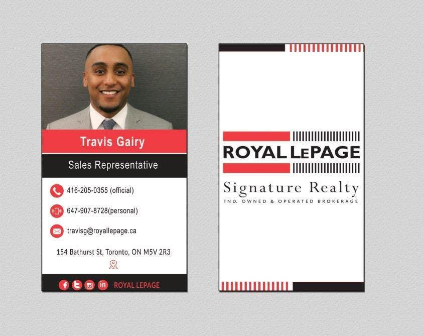 Proposition n°136 du concours Design some Business Cards