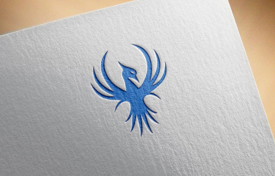 Proposition n°7 du concours I need a blue phoenix to represent my brand