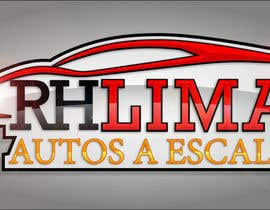 #33 for Logotipo de RH Autos a Escala Lima by mezcalinos