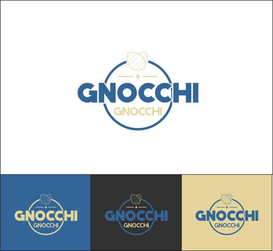 Proposition n°176 du concours Gnocchi Gnocchi Logo Design