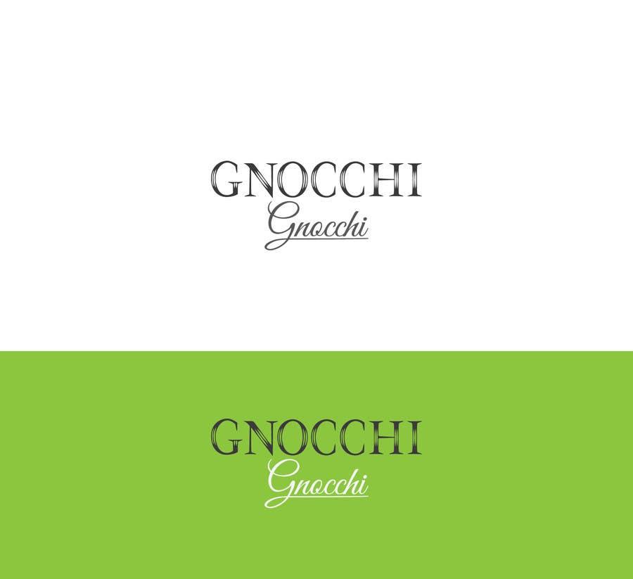 Proposition n°179 du concours Gnocchi Gnocchi Logo Design