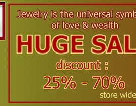 nº 9 pour Design a 3 Banner for a jewelry store par anjumonowara