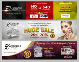 nº 6 pour Design a 3 Banner for a jewelry store par jhess31
