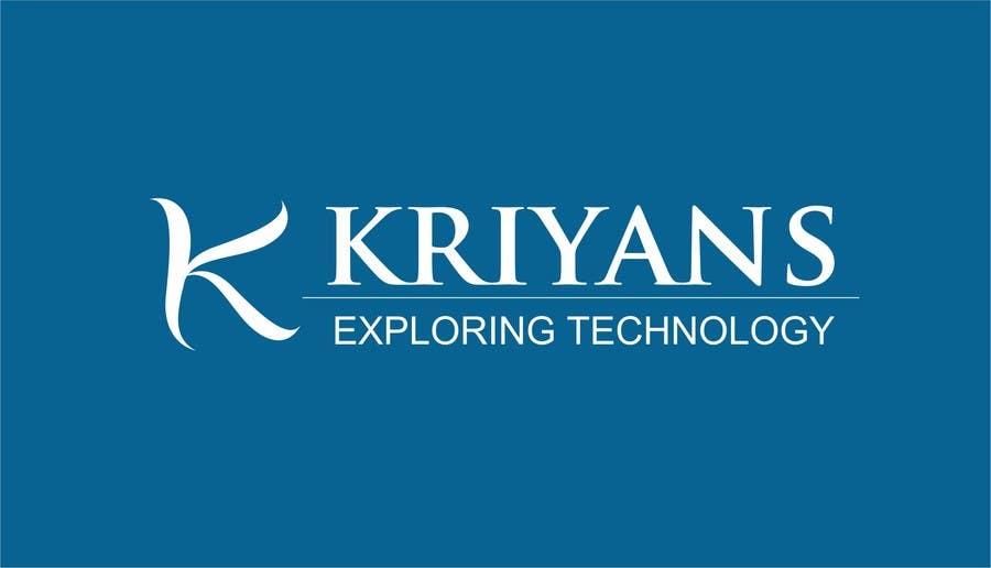 Inscrição nº                                         39                                      do Concurso para                                         Design a Logo for kriyance